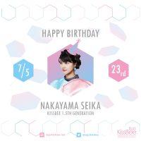 [2018-07-05] Nakayama Seika 23rd Birthday
