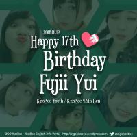 [2018-01-19] Fujii Yui 17th Birthday