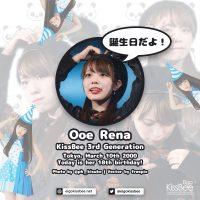 [2018-03-10] Ooe Rena 18th Birthday